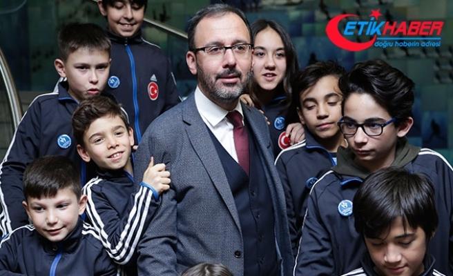 Gençlik ve Spor Bakanı Kasapoğlu: ''2019'u 'Gönüllülük Yılı' ilan ediyoruz''