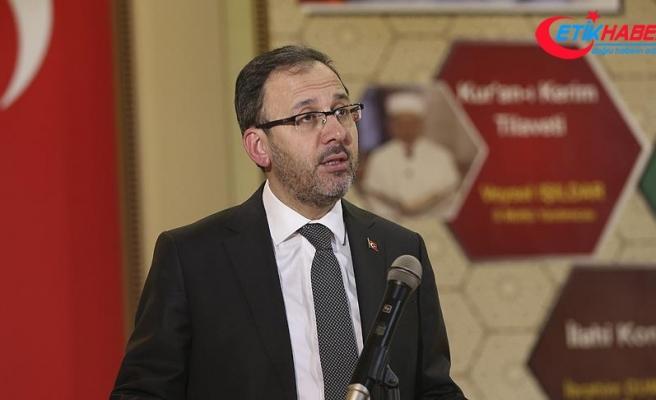 Gençlik ve Spor Bakanı Kasapoğlu: Gelecek, bugünden başlıyor