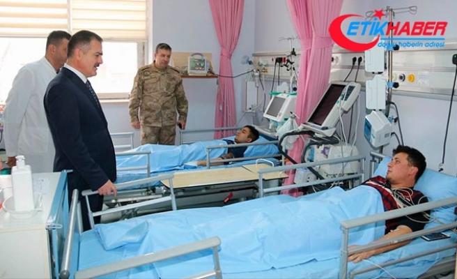 Hakkari' de üs bölgesine yıldırım düştü; 6 asker yaralı