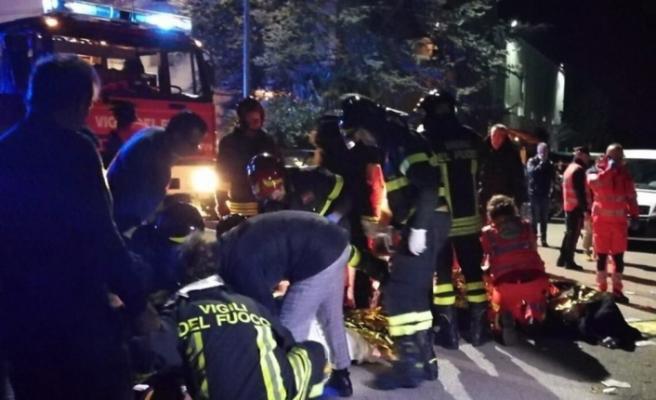 İtalya'da gece kulübünde izdiham: 6 ölü, 120 yaralı