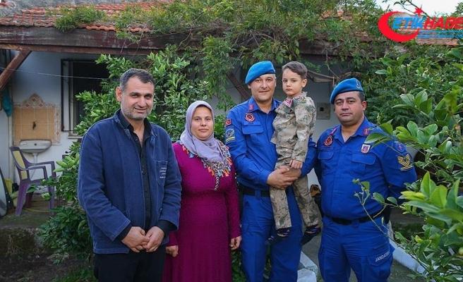 'Jandarma, oğlumu 'rüzgar' gibi hastaneye yetiştirdi'