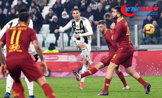 Juventus, Roma'yı tek golle geçti