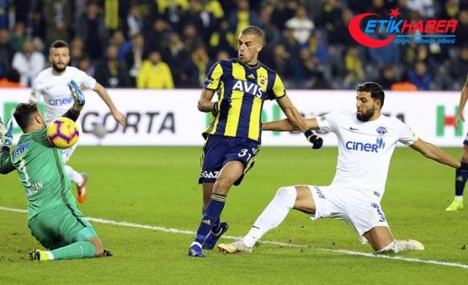 Kadıköy'de 4 gol var, kazanan yok