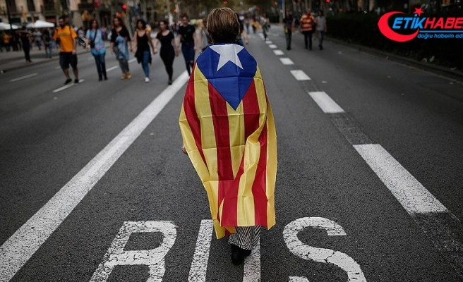 Katalonya bağımsızlık talebini 2019'da sürdürecek