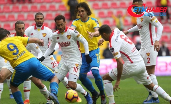 Kayseri'de kazanan Göztepe