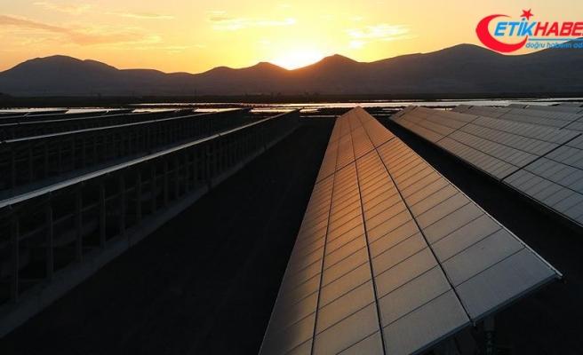 Kayseri'de Japon Panasonic ortaklı güneş enerjisi yatırımının ilk fazı devrede