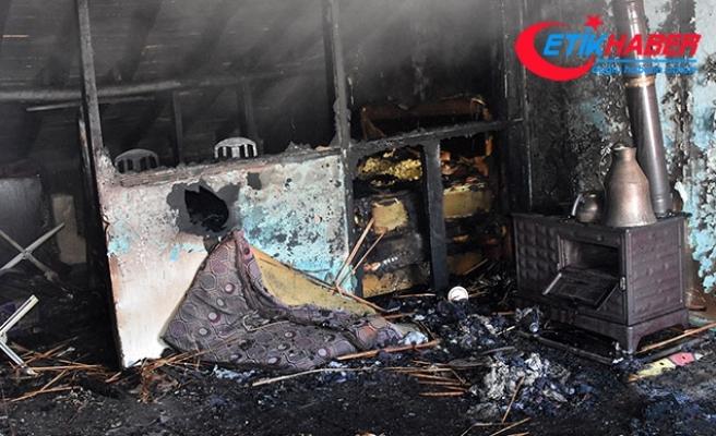 Konya'da yangın faciası: 4 çocuk öldü