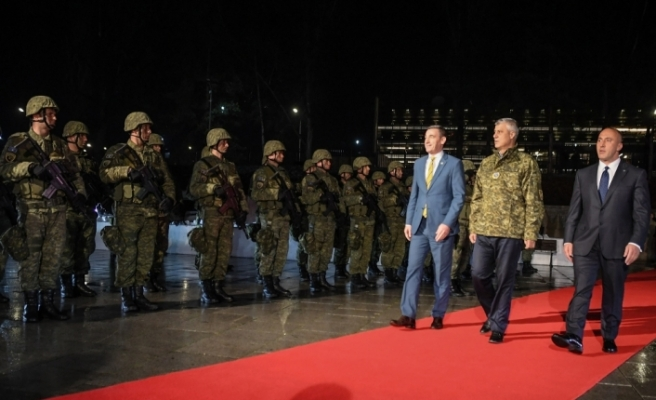 Kosova ordusu kuruldu