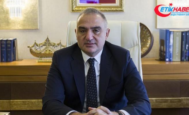 Kültür ve Turizm Bakanı Ersoy: Bakanlığın tanıtım bütçesi fona devredilecek