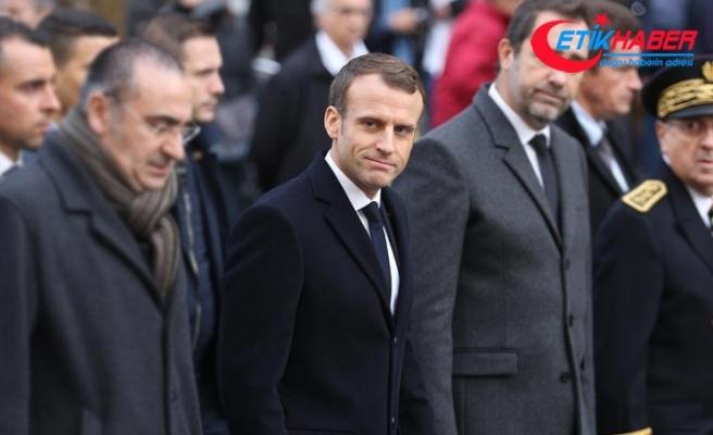 Macron 'sarı yelekliler' ile ilgili açıklama yapacak