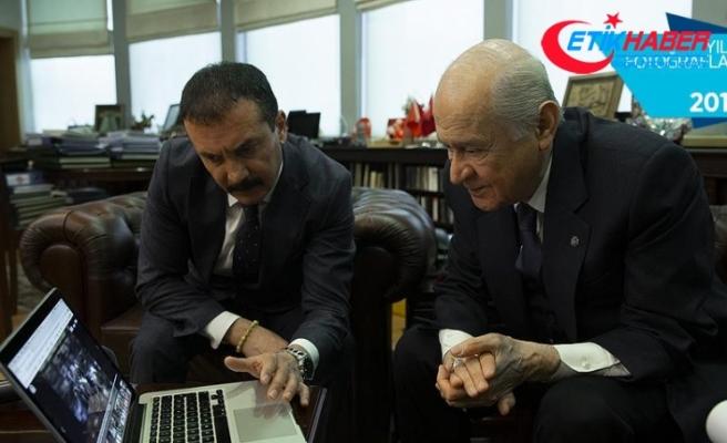 MHP Genel Başkanı Bahçeli 'Yılın Fotoğrafları'nı oyladı