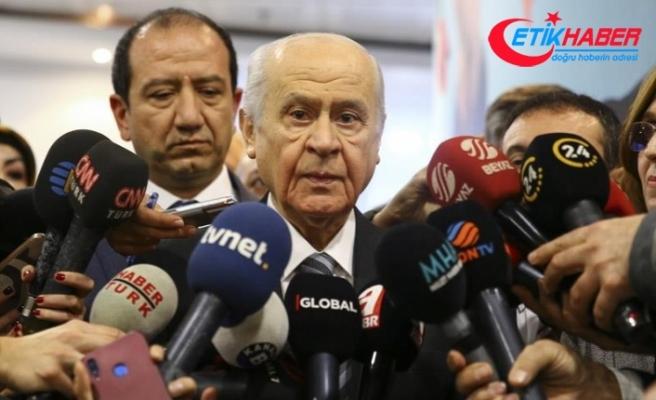 MHP Lideri Bahçeli: MHP'de pazarlık söz konusu olmaz