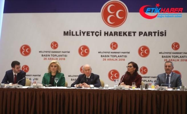 MHP Lideri Bahçeli: Hulusi Akar Paşa, Kuran'a, bayrağa ve silaha sahip çıkmıştır