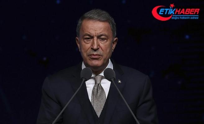 Milli Savunma Bakanı Akar: Kararlı mücadele sonucu terör faaliyetleri kısıtlandı