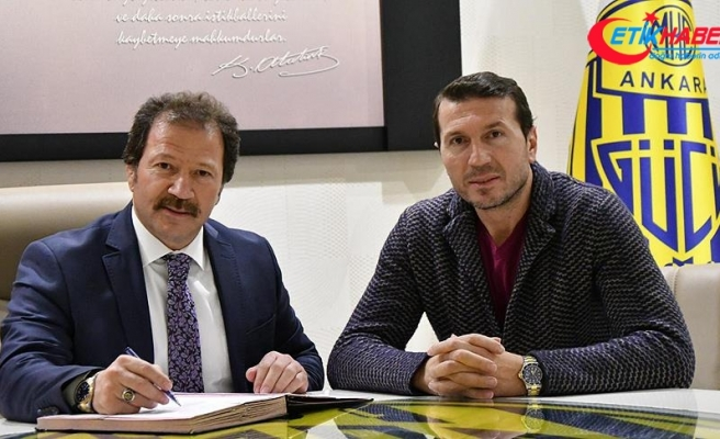 MKE Ankaragücü'nün yeni teknik direktörü Bayram Bektaş