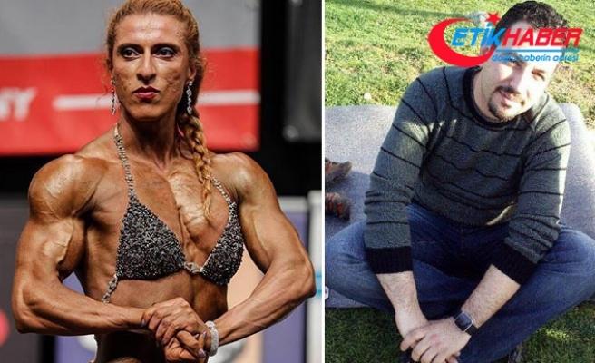 Ödüllü vücut geliştirme sporcusu olan sevgilisini öldürüp yaşamına son verdi