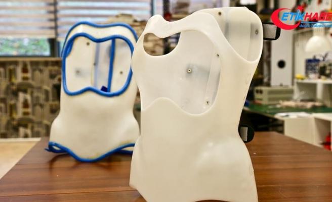 Omurga eğriliği tedavisi için 'akıllı korse' geliştirildi