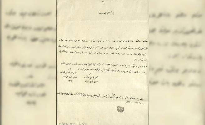 """""""Osmanlı'nın engellilere verdiği önem arşiv belgelerinde"""""""