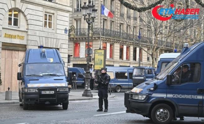 Paris'te sarı yeleklilerin gösterisi öncesinde 85 gözaltı
