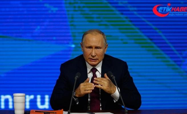 Rusya Devlet Başkanı Putin: Trump'ın DEAŞ zaferi yorumuna katılıyorum