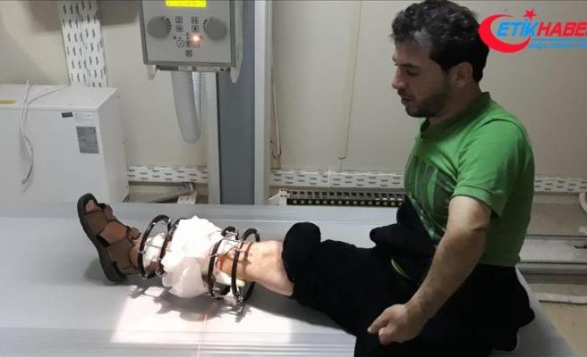 Saldırıda yaralanan eski Suriyeli futbolcuya yardım eli