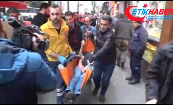 Şişli'de eczane işletmecisi çalışanını şişeyle yaraladı
