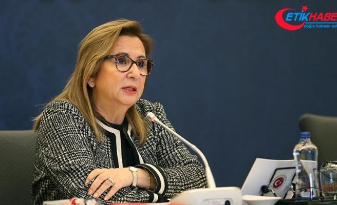 Ticaret Bakanı Ruhsar Pekcan: Türk müteahhitler 9,5 milyar dolar iş hacmine ulaştı