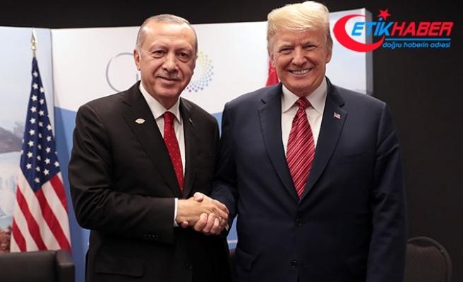 Trump Twitter'dan duyurdu: Erdoğan'la uzun ve verimli bir görüşme gerçekleştirdim