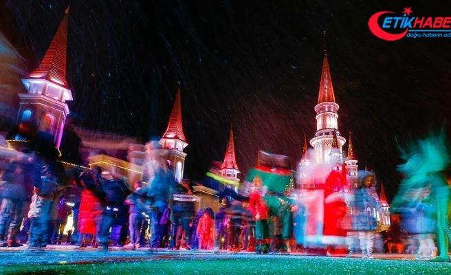 'Turizmin başkenti' yılbaşına hazırlanıyor
