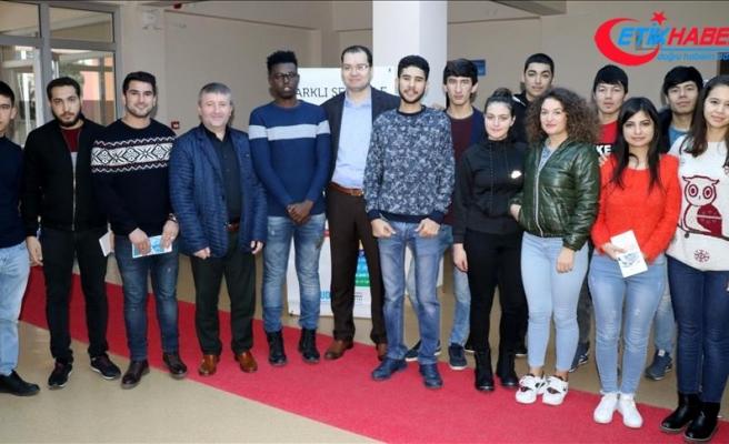 'Uluslararası öğrenciler 3 ayda Türkçe'yi öğrendi'