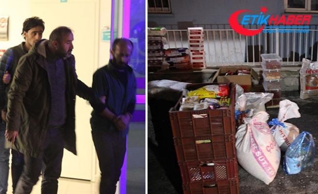 15 bin liralık gıda maddesi yüklü kamyoneti çalan 3 kişi yakalandı