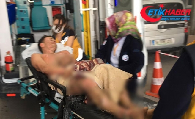 15 yaşındaki Ömer, çatıda akıma kapılarak ağır yaralandı