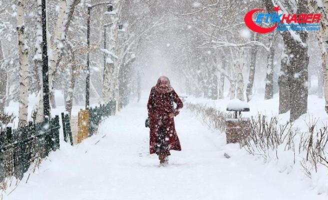 2 il için kuvvetli kar uyarısı