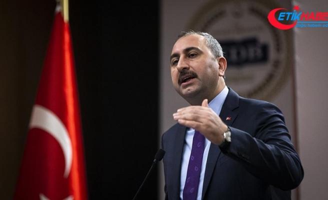 Adalet Bakanı Gül: Türkiye adli yardımlaşmada üzerine düşen kolaylığı gösterdi
