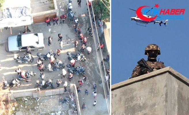 Adana'da 500 polisle asayiş ve narkotik operasyonu