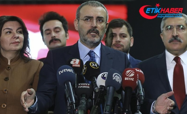 AKP'li Ünal: Ünal: Seçim manifestomuzun özeti 11 madde