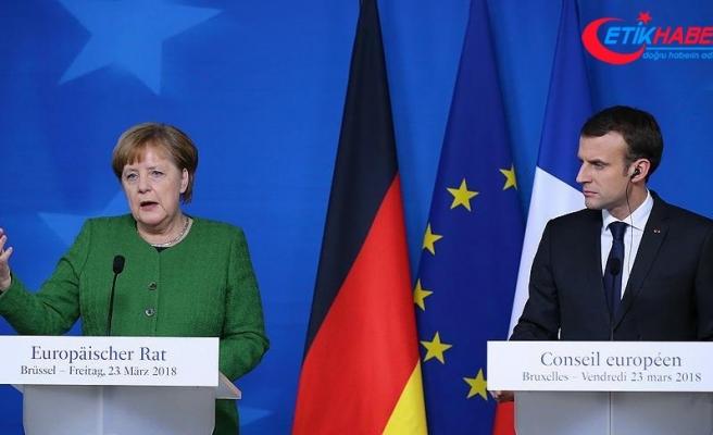 Almanya ile Fransa arasında yeni iş birliği anlaşması imzalandı