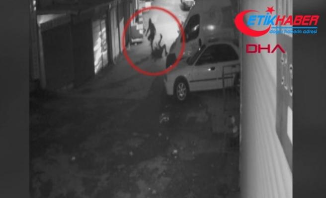 Ankara'da genç kadını boğazına çakmak dayayarak gasp etti