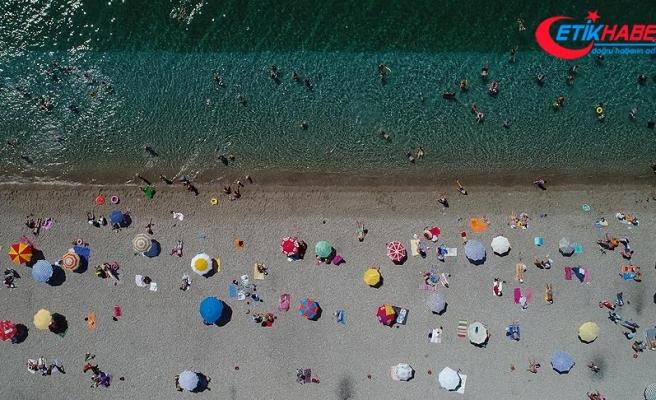 Antalya'ya gelen yabancı turistte tüm zamanların rekoru