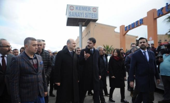 """""""Antalya'daki hortumda 315 binada hasar tespit ettik"""""""