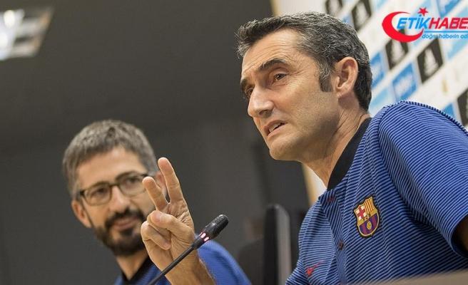 Barcelona'da teknik direktör tartışmalarına son nokta