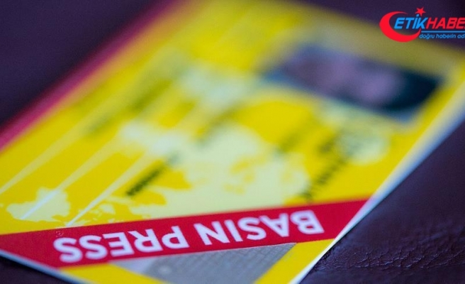 Basın kartlarının 'çip' ile daha fonksiyonel kullanılması önerisi