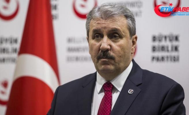 BBP Genel Başkanı Destici: HDP terör örgütünün unsurudur