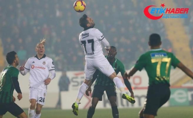 Beşiktaş deplasmanda Akhisarspor'u mağlup etti