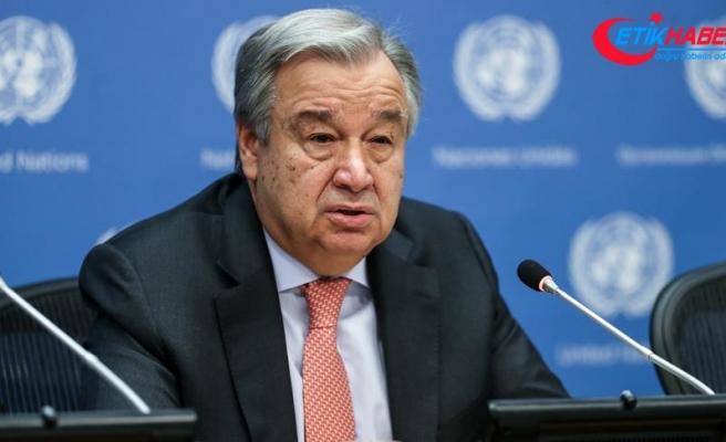 BM Genel Sekreteri Guterres: İklim değişikliğine karşı yarışı kaybediyoruz