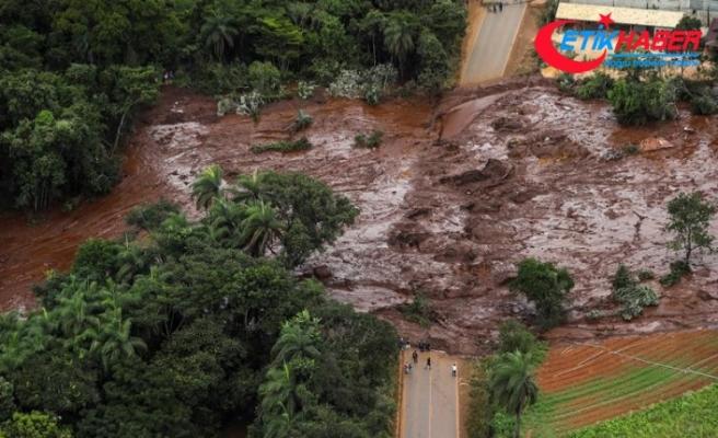 Brezilya'da çöken maden atık barajında ölü sayısı artıyor