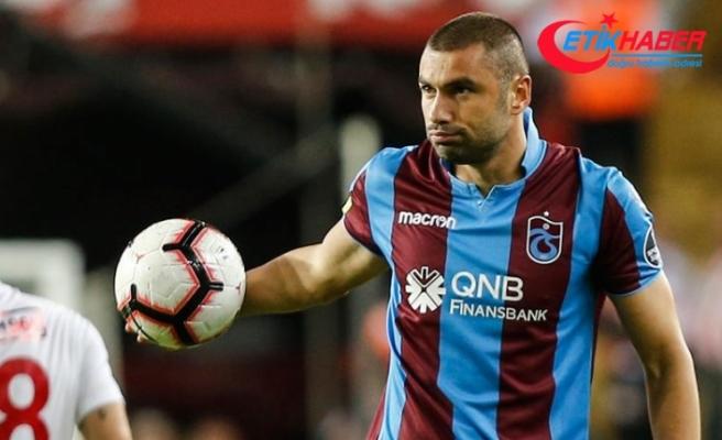 Burak Yılmaz en fazla golü Trabzonspor'da attı