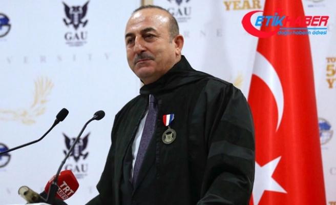 Çavuşoğlu: Kıbrıs davası birilerinin siyasi hırslarına kurban edilemez