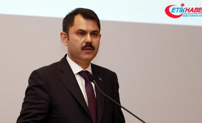 Çevre ve Şehircilik Bakanı Kurum: Poşet kullanımı yaklaşık yüzde 50 azaldı