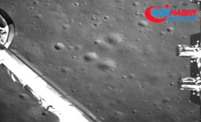 Chang'e-4'ün ayın karanlık yüzeyine inişinin görüntüleri yayınladı